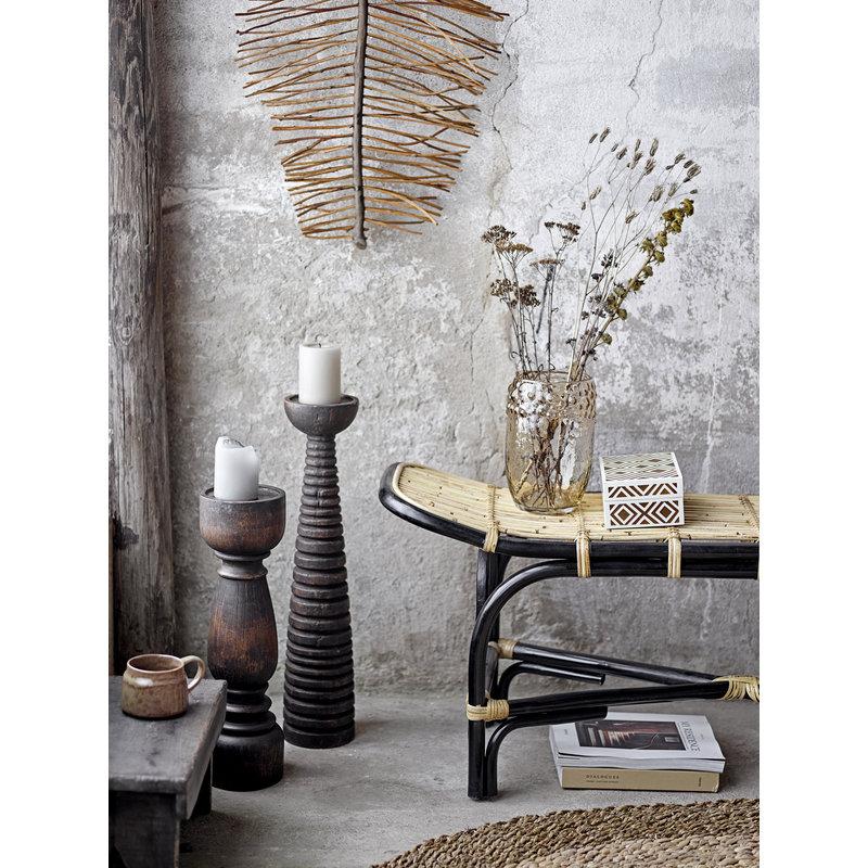 Bloomingville-collectie Pedestal Theron bruin mango hout