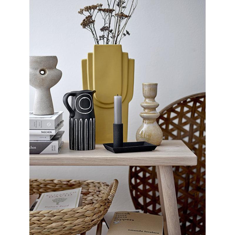 Bloomingville-collectie Ngoie Vase Nature Terracotta