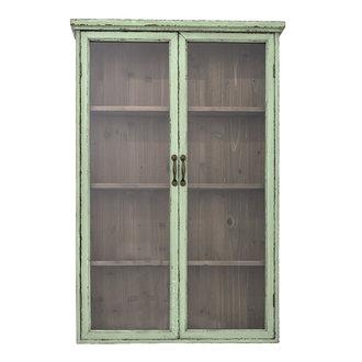 Bloomingville Hazem Cabinet Green Firwood