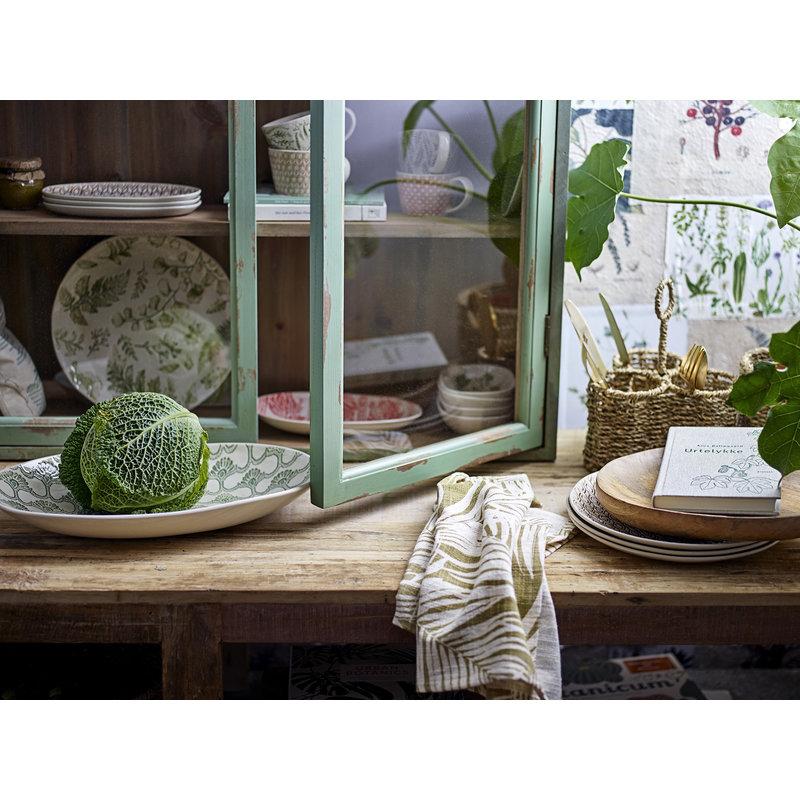 Bloomingville-collectie Vitrinekast Hazem groen