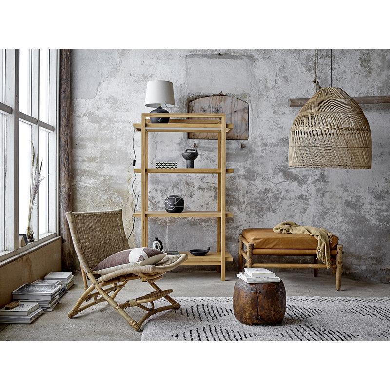 Bloomingville-collectie Ebrar Cushion Brown Cotton