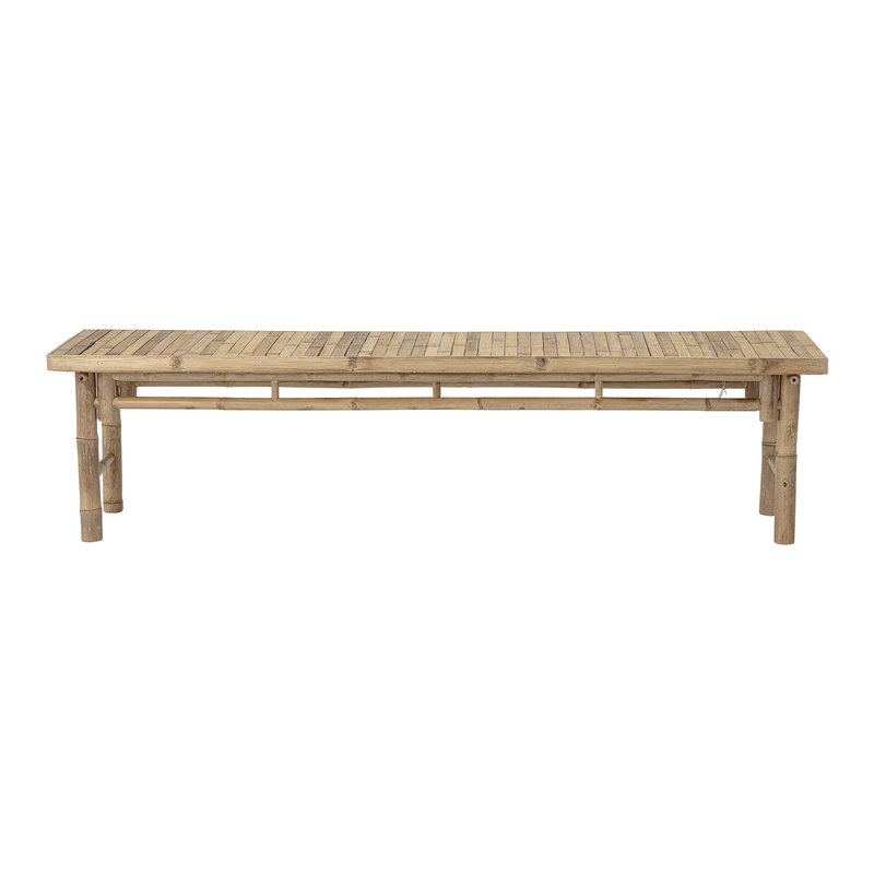 Bloomingville-collectie Sole Bench Nature Bamboo