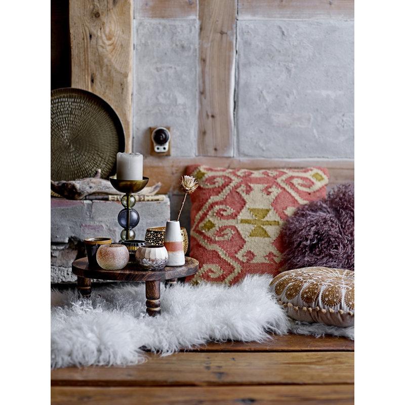 Bloomingville-collectie Nanu Skin White Lambskin Mongolian
