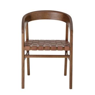 Bloomingville Vitus Dining Chair Brown Mindi Wood