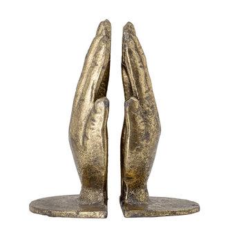 Bloomingville Anders Bookend Brass Metal