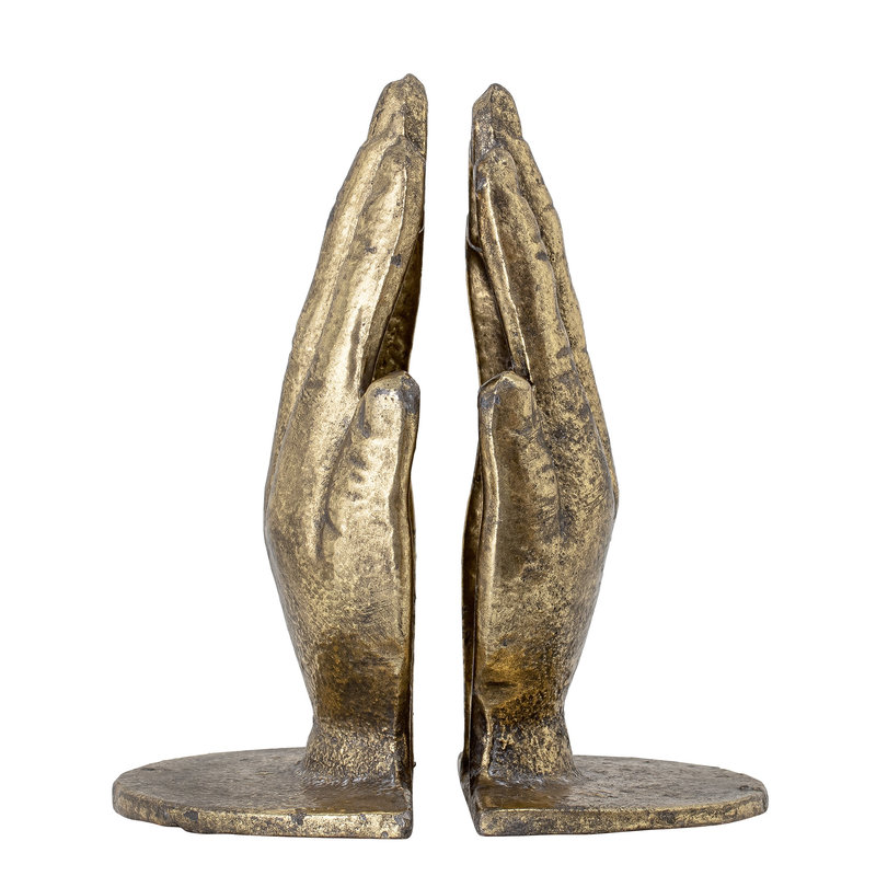 Bloomingville-collectie Anders Bookend Brass Metal