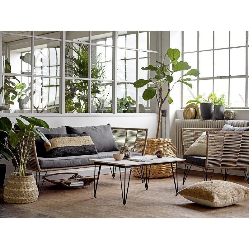 Bloomingville-collectie Salontafel Mundo grijs betonlook