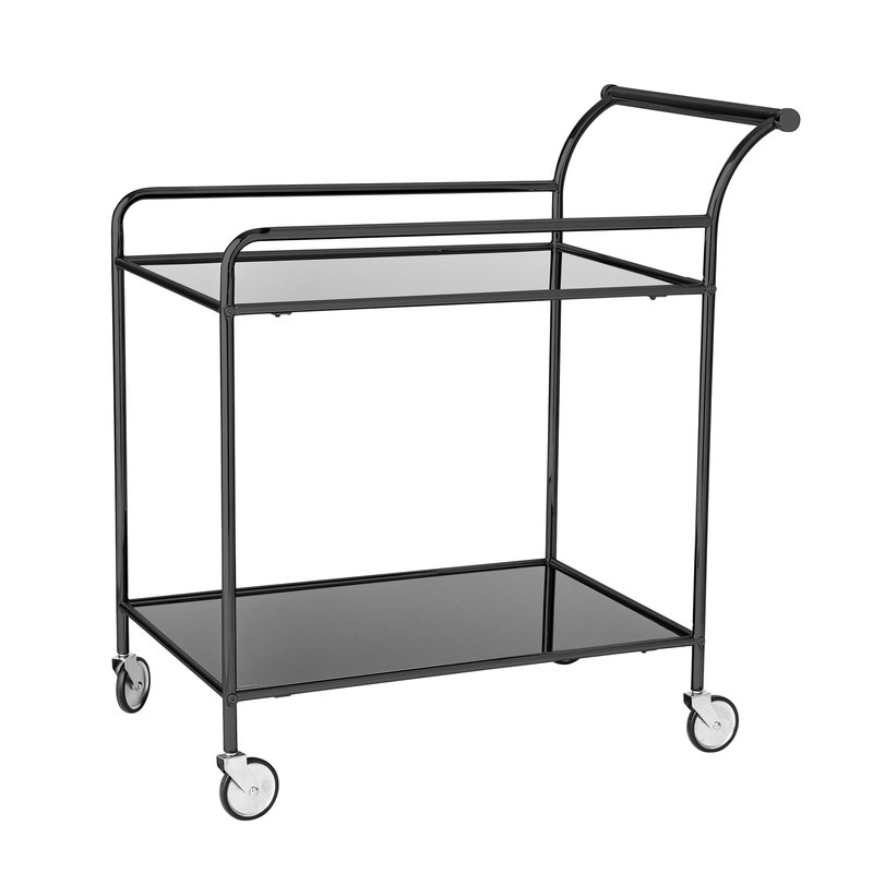 Bloomingville-collectie Fine Bar Table Black Glass