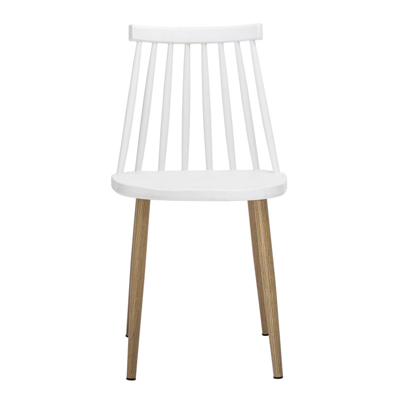 Bloomingville-collectie Bajo Chair White Plastic
