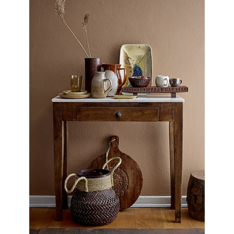 Bloomingville-collectie Sidetable met marmeren blad