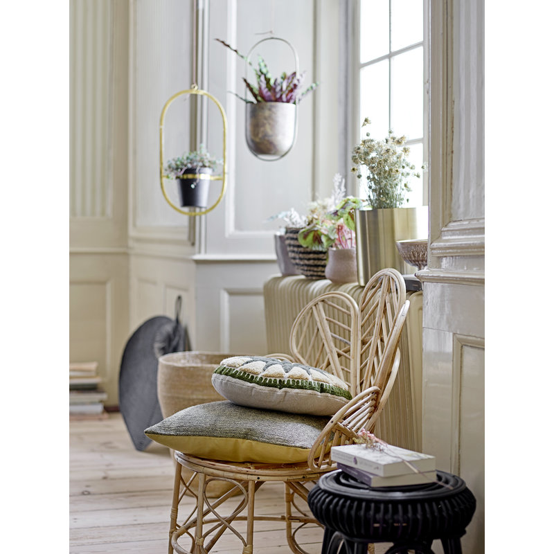 Bloomingville-collectie Lounge stoel Emmy bamboe