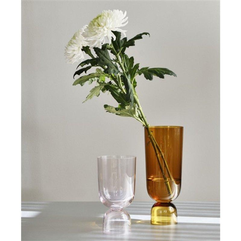 HAY-collectie Bottoms up vaas lichtroze