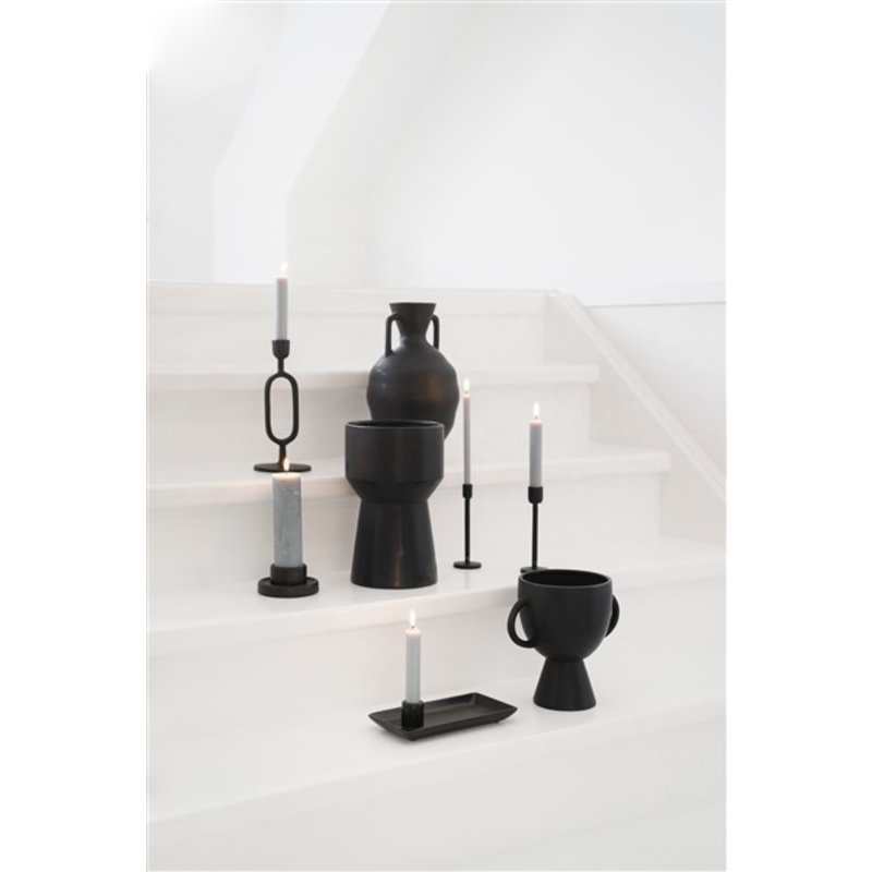 Zusss-collectie Candlestick with black ceramic top