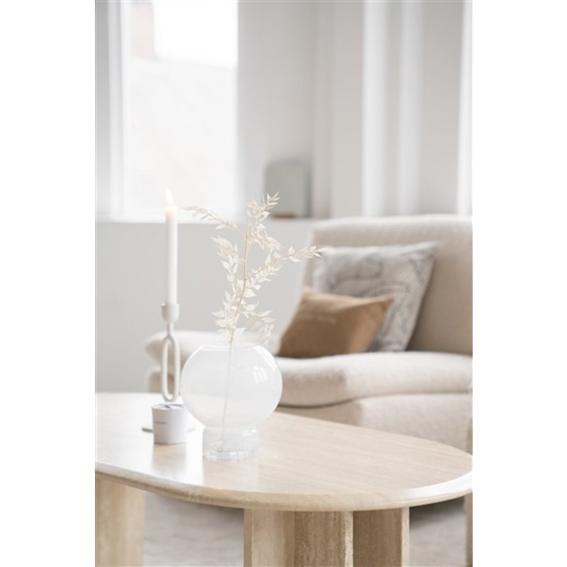 Zusss-collectie Candlestick ornament white