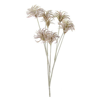 Mr Plant Artificial thistle twig burgundy red 70 cm