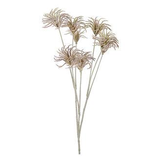 Mr Plant Kunsttak Distel bordeaux rood 70 cm