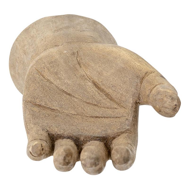 Bloomingville-collectie Takuto deco hand mango wood 23 cm