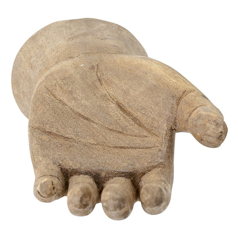 Bloomingville-collectie Takuto decoratie hand mangohout 23 cm