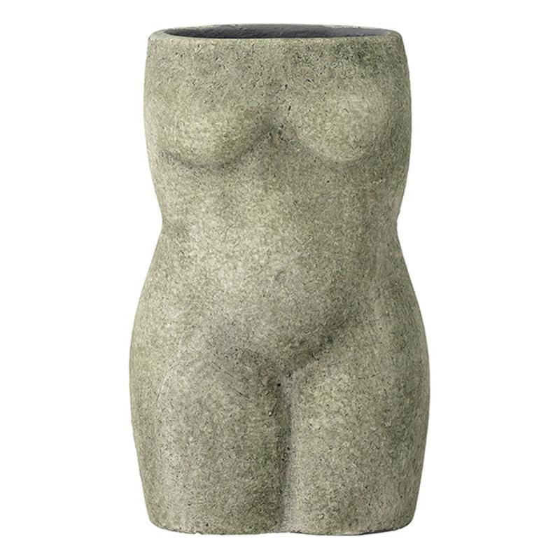 Bloomingville-collectie Vaas Emeli terracotta groen