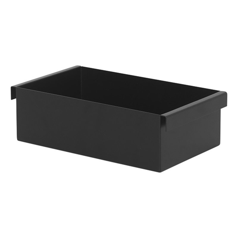 ferm LIVING-collectie Plant box container zwart