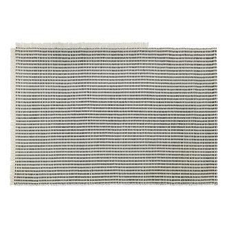 ferm LIVING Way Rug - Off-White/Blue 200x140 cm