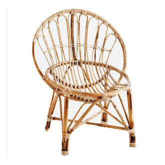 Madam Stoltz Bamboo chair Natural 64x52x88 cm - Copy