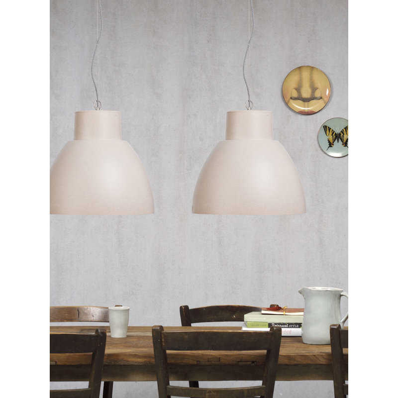 it's about RoMi-collectie Hanging lamp biodegradable Stockholm, white