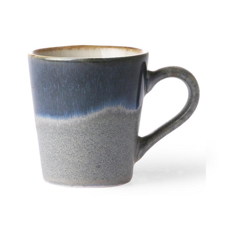 HKliving-collectie ceramic 70's espresso mug Ocean