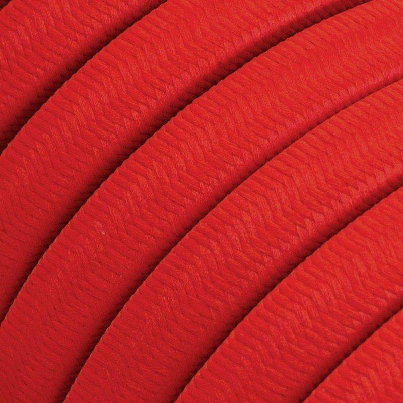 STUDIO DEENS-collectie Outdoor lichtsnoer 12,5m met 10 fittingen rood