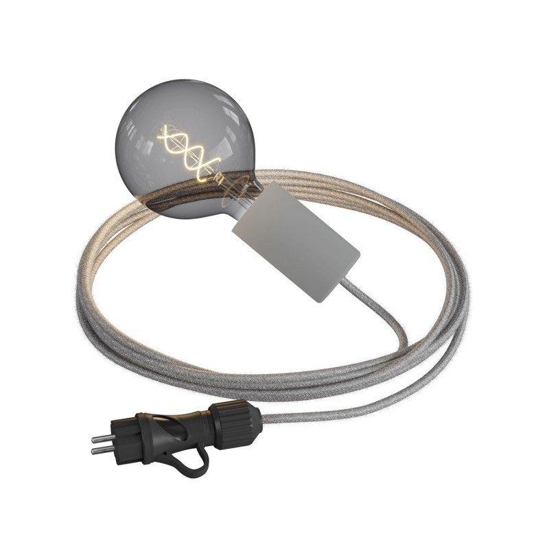STUDIO DEENS-collectie Outdoor bulbholder grey