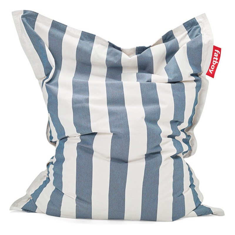 Fatboy-collectie  The original outdoor zitzak stripe ocean blue