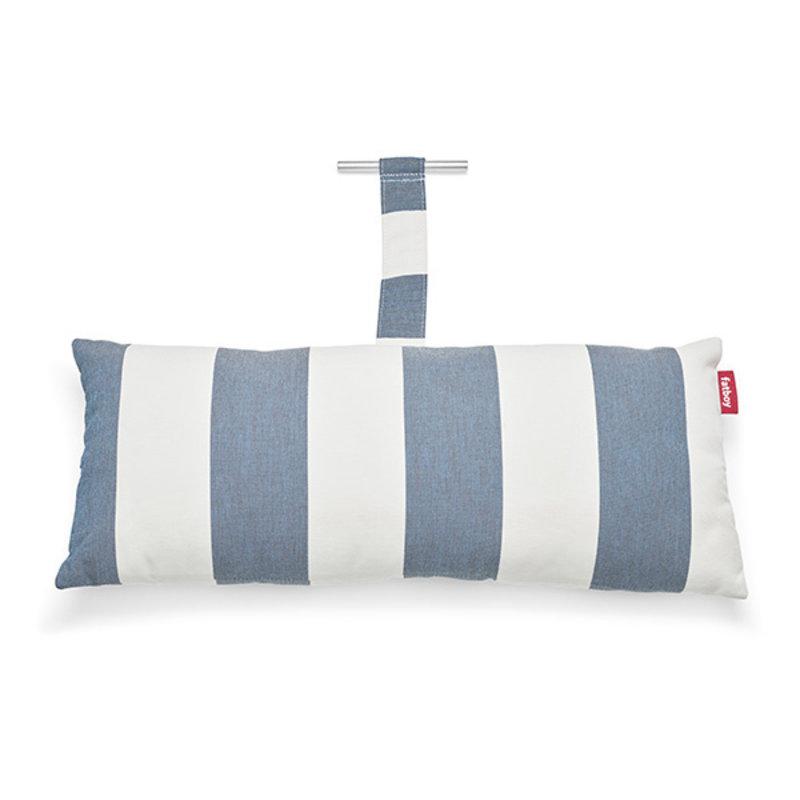 Fatboy-collectie  headdemock superb kussen stripe ocean blue