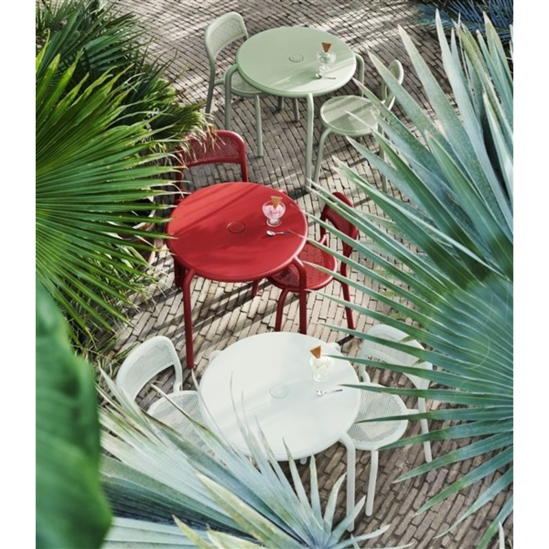 Fatboy-collectie Fatboy® Toní chair set industrial red (4 pcs)