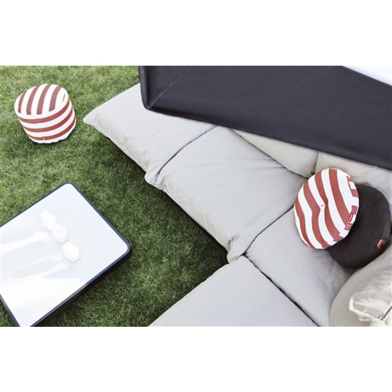 Fatboy-collectie  circle pillow stripe rood