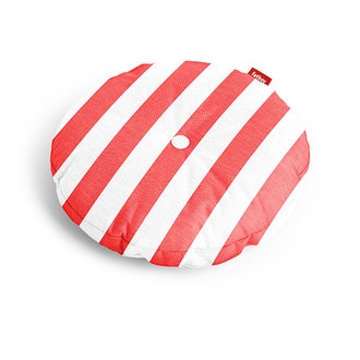 Fatboy circle pillow stripe rood