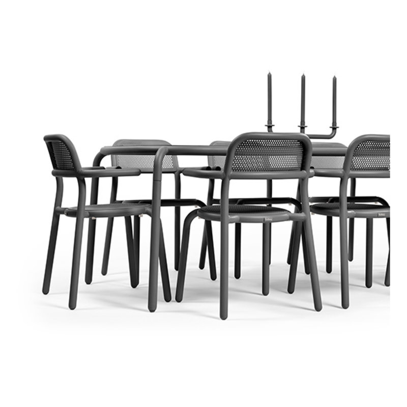 Fatboy-collectie  Toní chair set antraciet (2 pcs)