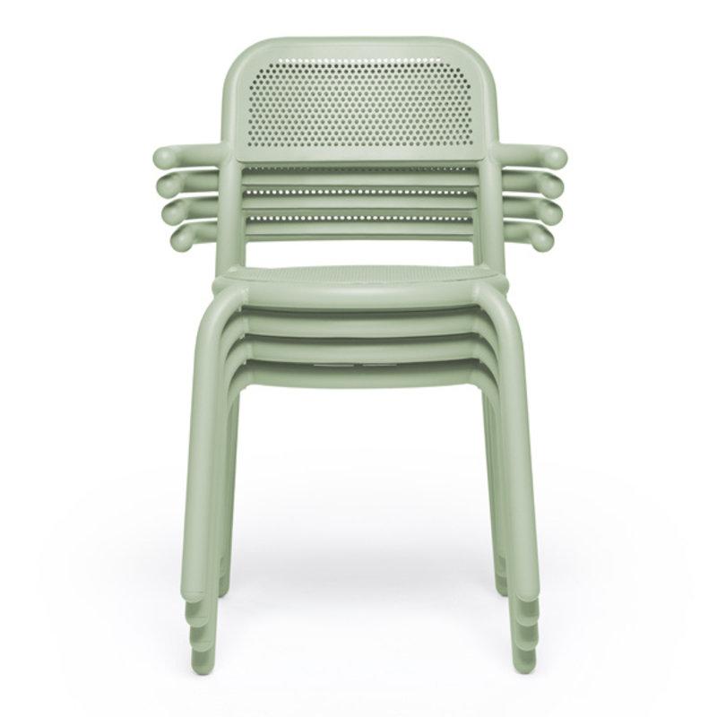 Fatboy-collectie  Toní armchair set mist green (4 pcs)