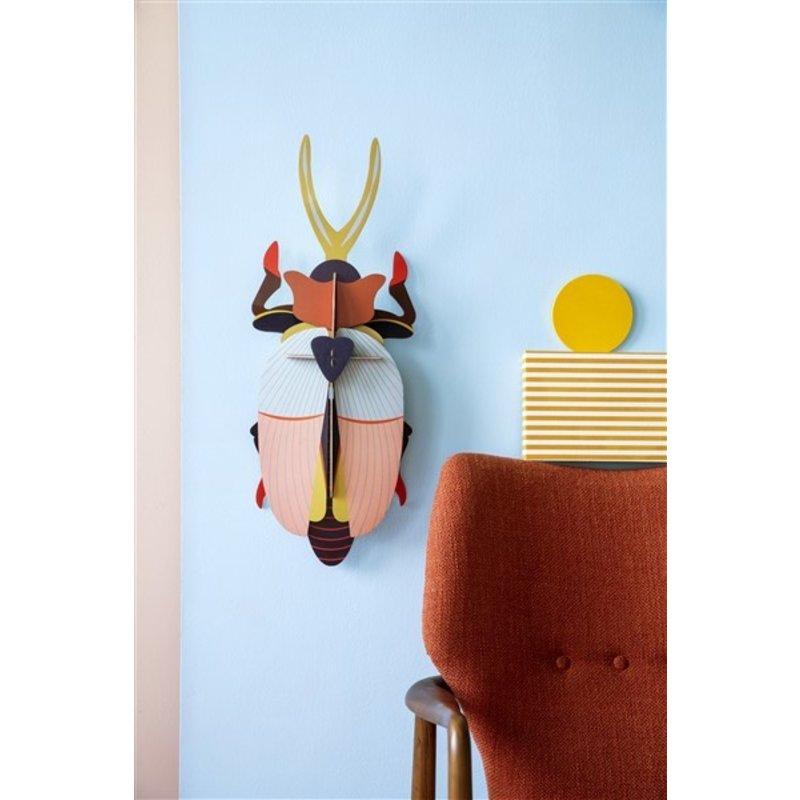 Studio ROOF-collectie Deluxe Rhinoceros Beetle