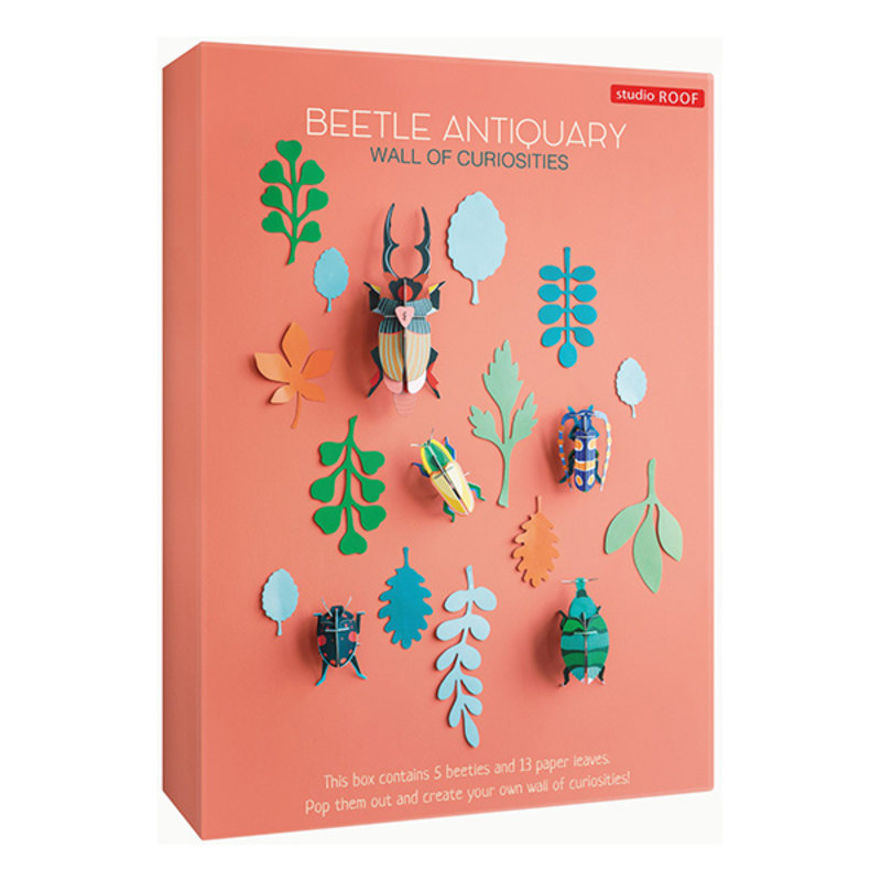 Studio ROOF-collectie Wall of Curiosities, Beetle Antiquary