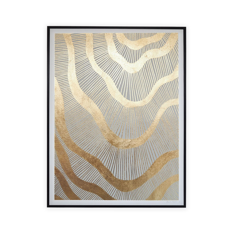 WHY-collectie Galactic with black frame 70x100 cm