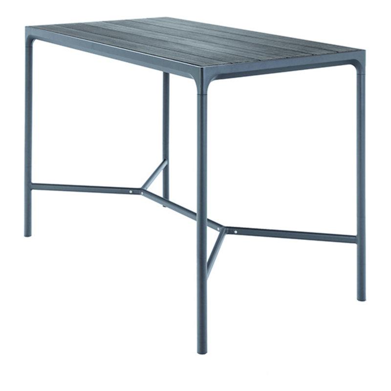 Houe-collectie FOUR Bar Table 160x90 cm, w/Aluminum Lamellas
