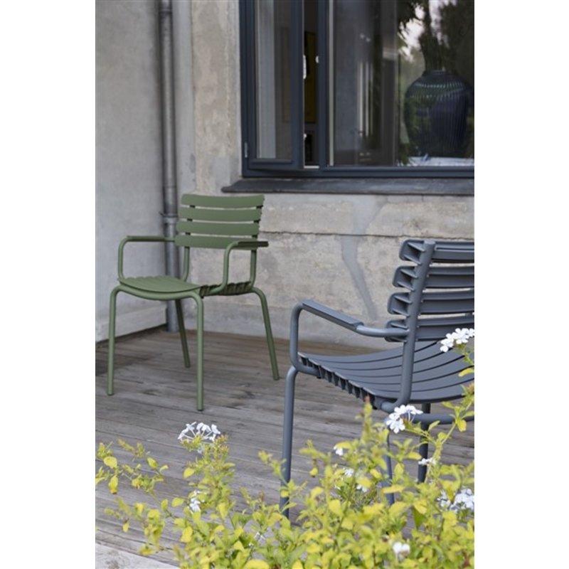 Houe-collectie ReCLIPS tuinstoel met armleuning hemelsblauw