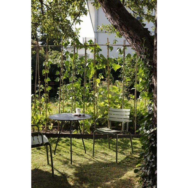 Houe-collectie ReCLIPS tuinstoel met armleuning olijfgroen