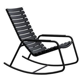 Houe ReCLIPS schommelstoel met armleuning zwart