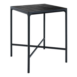 Houe FOUR bartafel 90x90 cm zwart