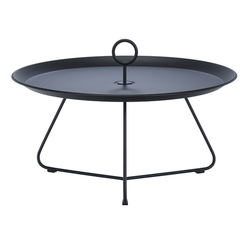 Houe-collectie EYELET Tray Table Ø70 cm Black