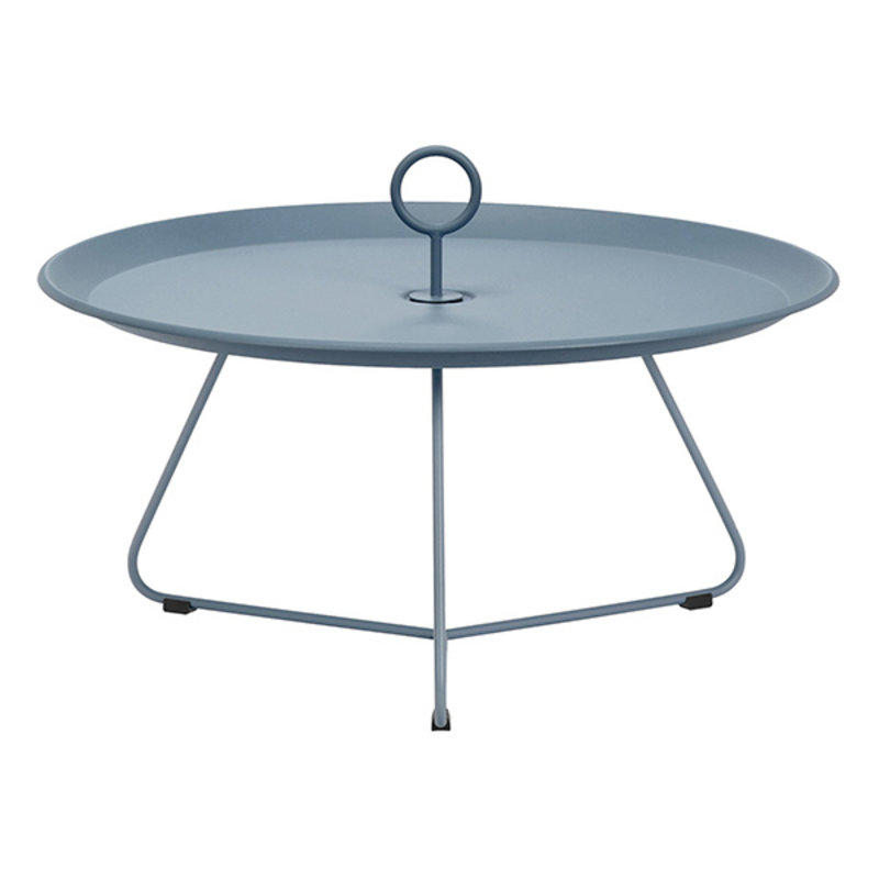 Houe-collectie EYELET Tray Table Ø70 cm Midnight Blue