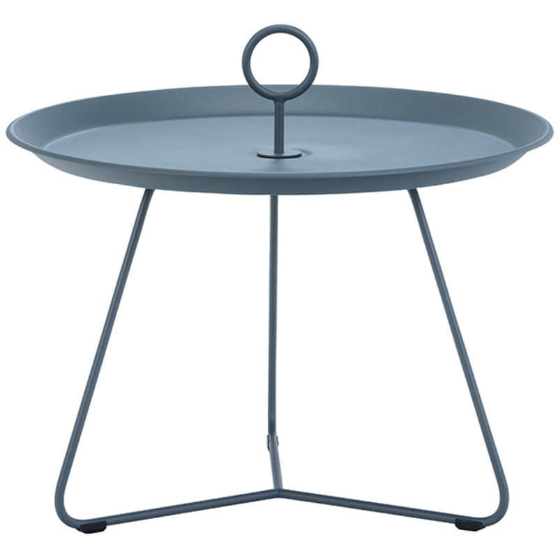 Houe-collectie EYELET Tray Table ø60 cm Midnight Blue