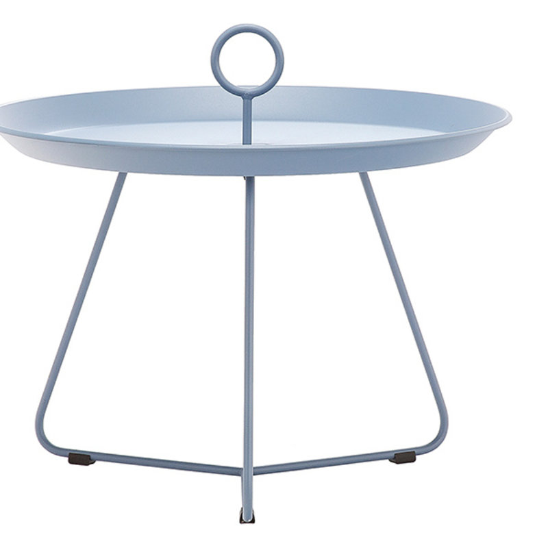 Houe-collectie EYELET Tray Table ø60 cm Pigeon blue