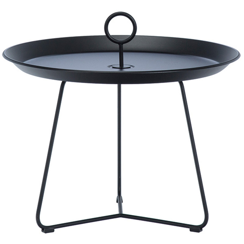 Houe-collectie EYELET Tray Table ø60 cm Black